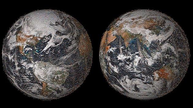 Foto, video: El 'selfie' de la Tierra en el que participan miles de fotos de todo el mundo