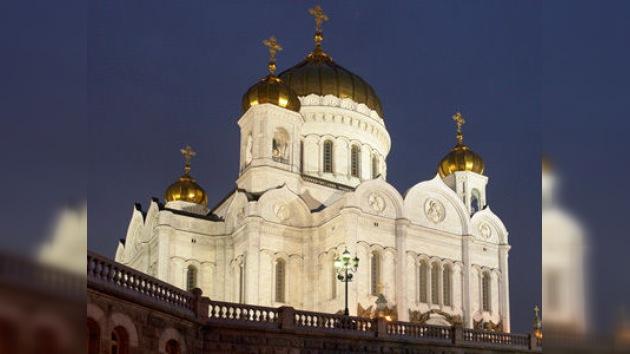 Los cristianos ortodoxos de Rusia celebran la Pascua