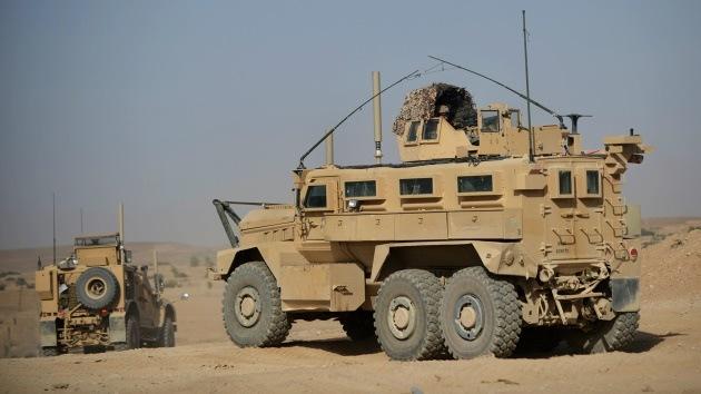 EE.UU. intenta revender en Afganistán parte de su flota de vehículos blindados MRAP
