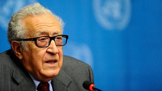 Brahimi: EE.UU. y Reino Unido no han presentado pruebas del uso de armas químicas por el Gobierno