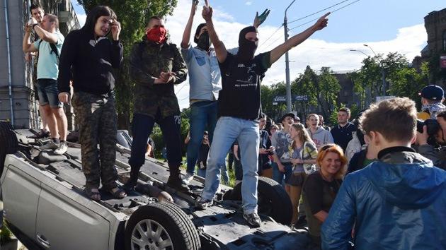 Rusia condena el asedio de su Embajada en Kiev