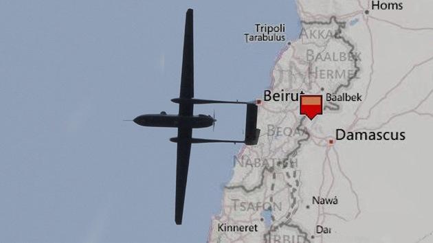 Siria derriba un avión no tripulado israelí en la frontera con el Líbano
