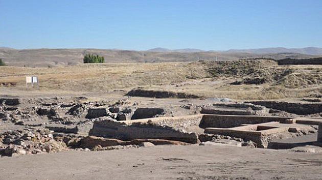 Hallan un palacio de 4.500 años de antigüedad en Turquía