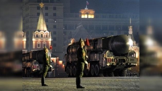 Iniciado en Moscú el ensayo nocturno del desfile militar
