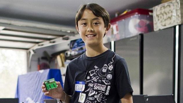 Niño prodigio de 13 años imparte clases en una de las mejores universidades del mundo