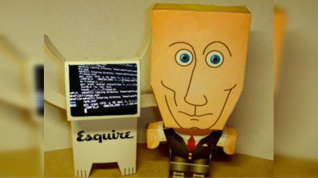 Discursos personalizados de Vladímir Putin para los usuarios de 'Esquire'