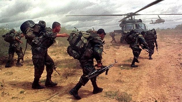 EE.UU. ayudó en secreto al Gobierno de Colombia en la lucha contra las FARC