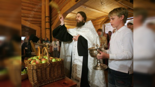 Rusia celebra la Festividad del Señor de la Manzana