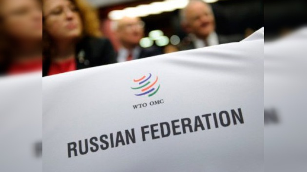 Rusia se hace oír ingresando a la OMC