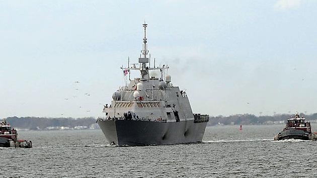 El destructor estadounidense Freedom se dirige a Asia incapaz de superar un combate