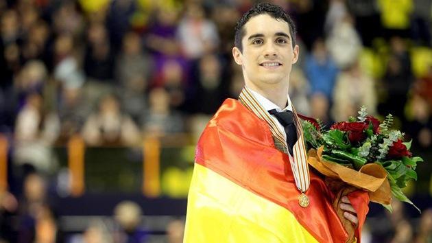 Javier Fernández, oro en los Europeos de Zagreb de patinaje artístico