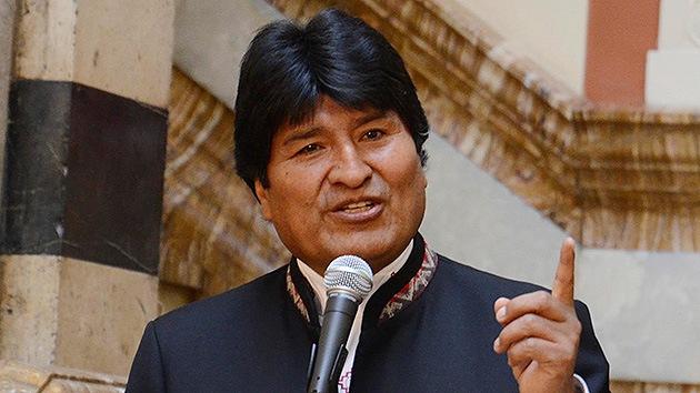 Evo Morales: EE.UU. promueve una 'guerra civil' en Venezuela para quedarse con su petróleo