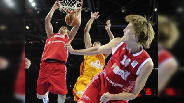 Rusia peleará por un lugar para Londres 2012 en el preolímpico de baloncesto de Venezuela