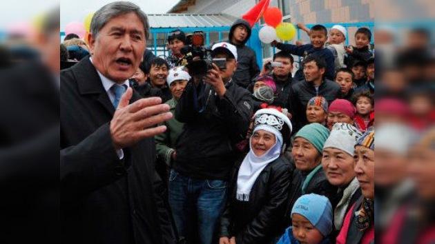 El primer ministro de Kirguistán se asegura el sillón presidencial