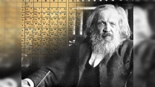 La tabla periódica de Mendeléyev actualizada por hallazgos rusos