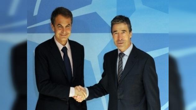 Zapatero pide que la OTAN se implique en la lucha contra el terrorismo