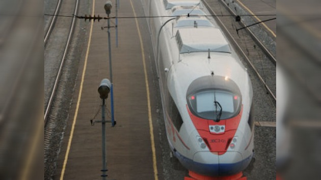 Los servicios de seguridad rusos evitan un gran atentado contra el tren de alta velocidad