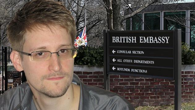 El Reino Unido pide a 'The New York Times' que elimine los archivos de Snowden