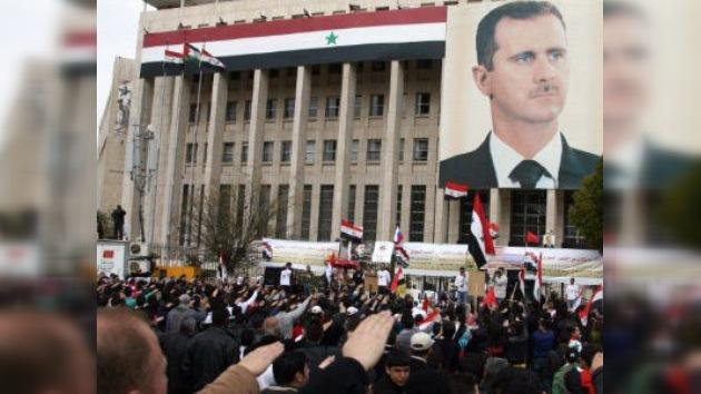 "Damasco convoca un referéndum constitucional para ""pasar a una nueva fase"""