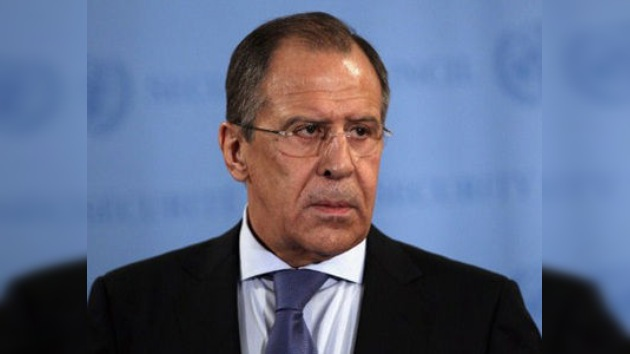 Lavrov espera que la comunidad internacional no frustre la misión de Kofi Annan en Siria