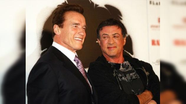 Stallone y Schwarzenegger juntos en 'The Tomb'