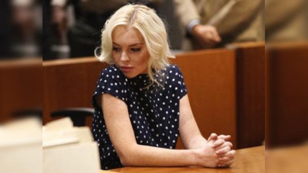 Lindsay Lohan pasará otros 30 días a la sombra