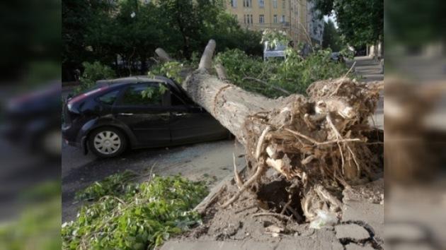Temporales dejaron sin la luz a varias localidades en Rusia central