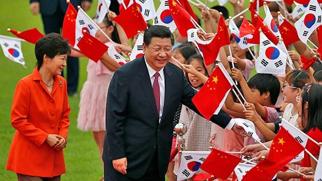 El presidente chino visita Seúl para debilitar las alianzas de EE.UU.