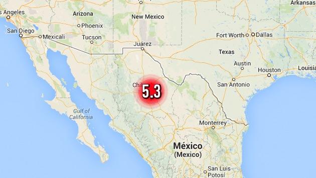 Un terremoto de magnitud 5,3 sacude México