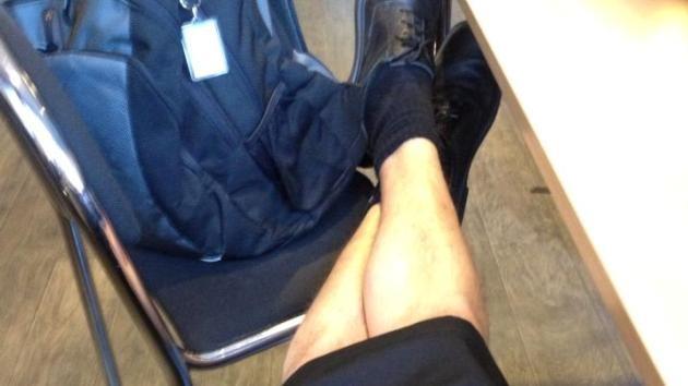 Los maquinistas suecos se ponen falda para el verano
