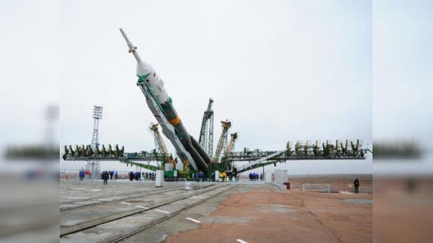 """La """"Gagarin"""" ya está en la rampa de lanzamiento"""