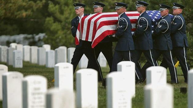 El Pentágono falsifica ceremonias en honor a los soldados caídos