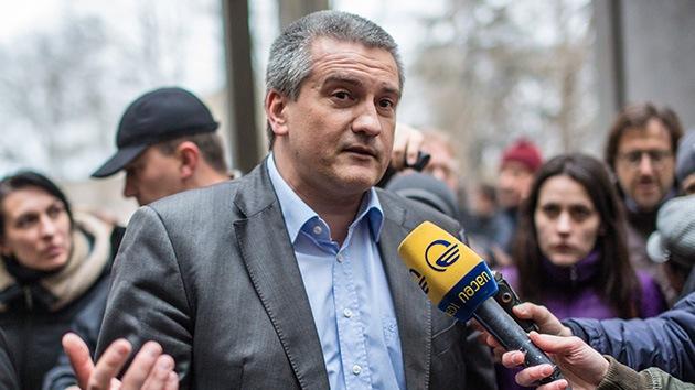 Primer ministro de Crimea: No habrá discrepancias nacionales, como querrían en Kiev