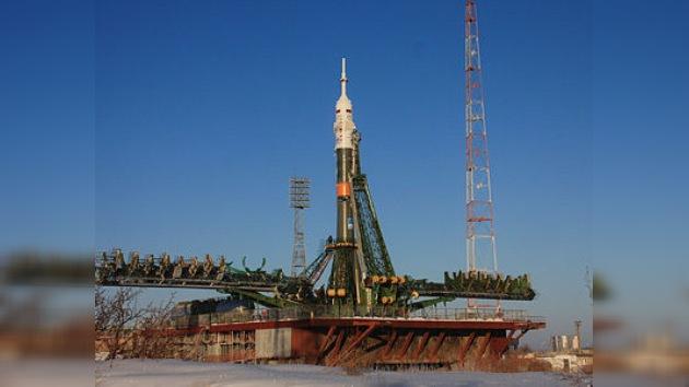 El lanzamiento de la nave espacial Soyuz en vivo en RT