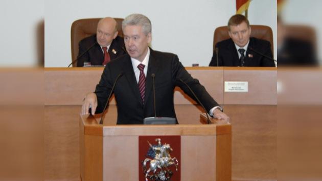 Serguéi Sobianin, ratificado como nuevo alcalde por la Duma de Moscú