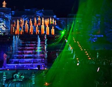 En San Petesburgo tiene lugar grandioso espectáculo en el Palacio de Peterhof
