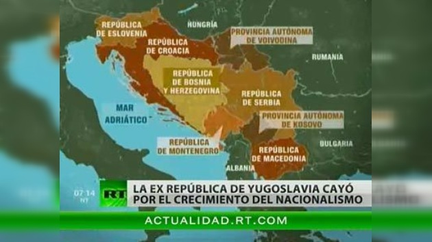 Los habitantes de los Balcanes extrañan Yugoslavia