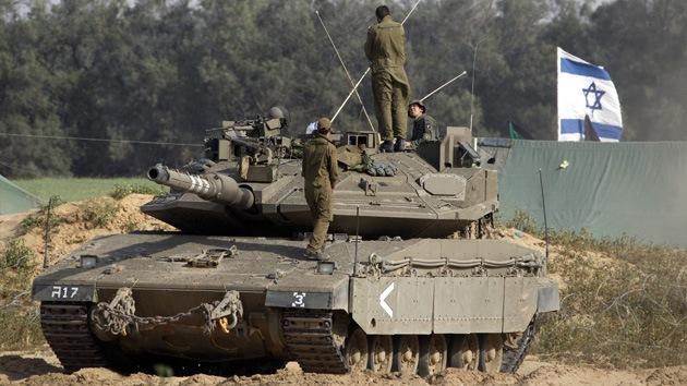 Israel al ataque: Tanques hebreos alcanzan dos baterías móviles del Ejército sirio
