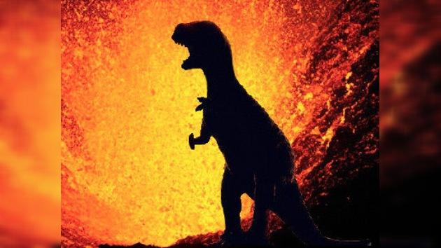 Océanos de lava podrían haber acabado con los dinosaurios