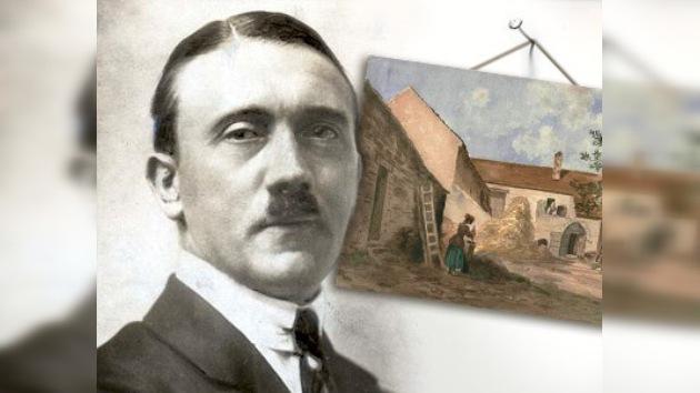 US$164.800 por la colección de 16 acuarelas de Hitler