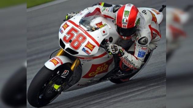 Muere Marco Simoncelli, la gran esperanza del motociclismo italiano