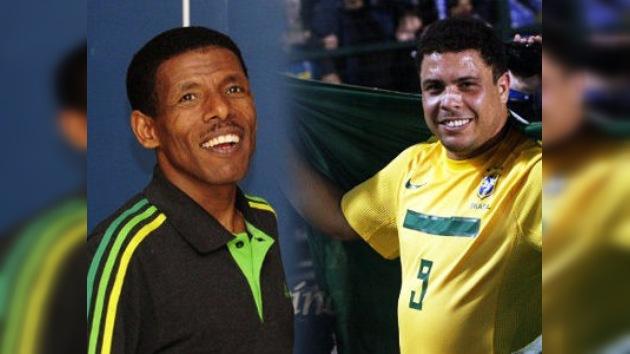 """Atleta etíope dice que sigue corriendo para no terminar """"tan gordo"""" como Ronaldo"""