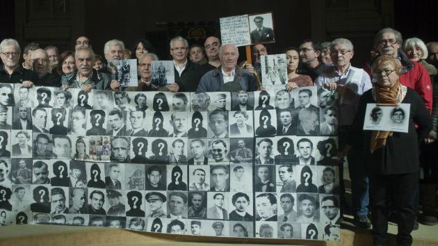 """""""España mantiene en el olvido a las 150.000 víctimas de la Guerra Civil y el franquismo"""""""