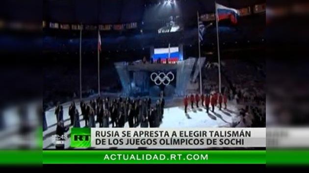 Rusia se prepara para elegir a la mascota de los Juegos Olímpicos de Sochi