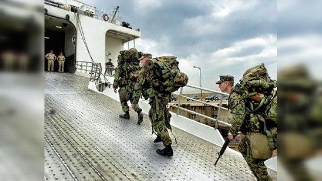 EE.UU. retira a 9.000 marines de Japón