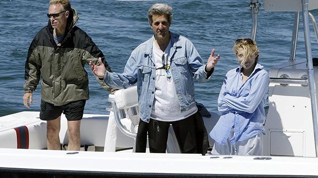 El Departamento de Estado admite que en pleno golpe en Egipto Kerry estaba en su yate