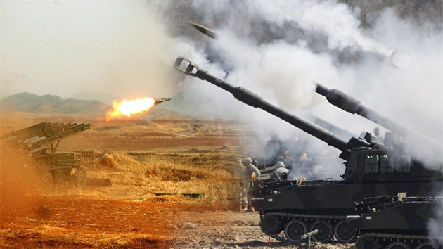 Infografía: ¿Quién vencería en caso de guerra en la península coreana?