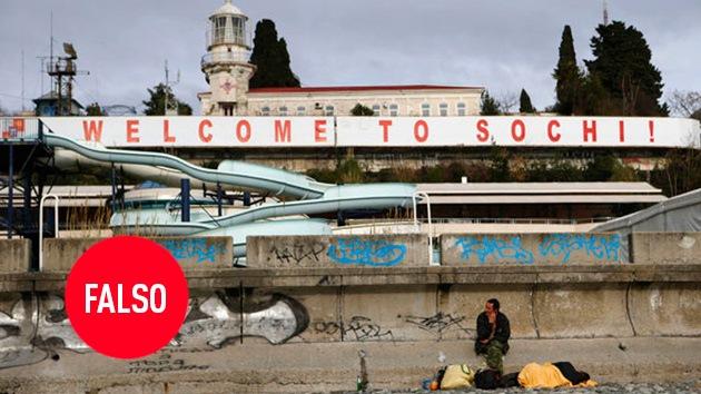 Fotos falsas de los Juegos Olímpicos de Sochi que se han vuelto virales