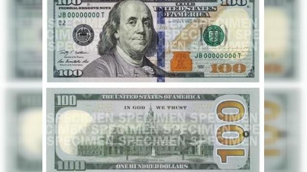 EE. UU. suspende la emisión de billetes de 100 dólares
