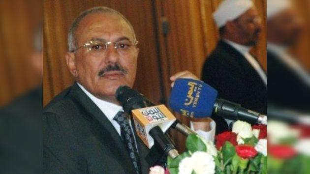 Saleh tiene 30 días para abandonar el poder en Yemen